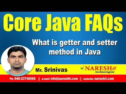 What is getter and setter method in Java - Mostly Asked Java Interview Questions