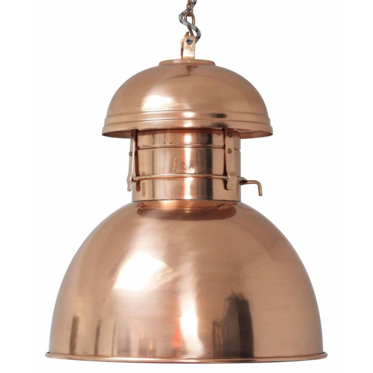 Hängeleuchte Fabrikart, Pendelleuchte Kupfer, Lampe ...
