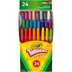 Crayola Twistables Mini Crayons - 24 count