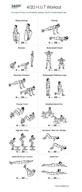 hiit   kind  high   exercises