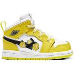 Jordan Girls Toddler 1 Mid SE Shoe