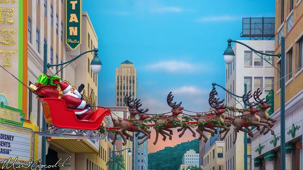 Disneyland Resort, Disney California Adventure, Hollywood Land, Christmas Time, Christmas, 2014