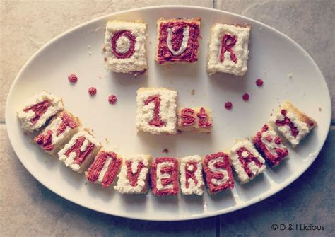 Cake cubes made for my 1st wedding anniversary :)   D & I