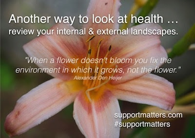 Are you blooming where planted? By Gail Kauranen Jones, Life Coach | Support Matters