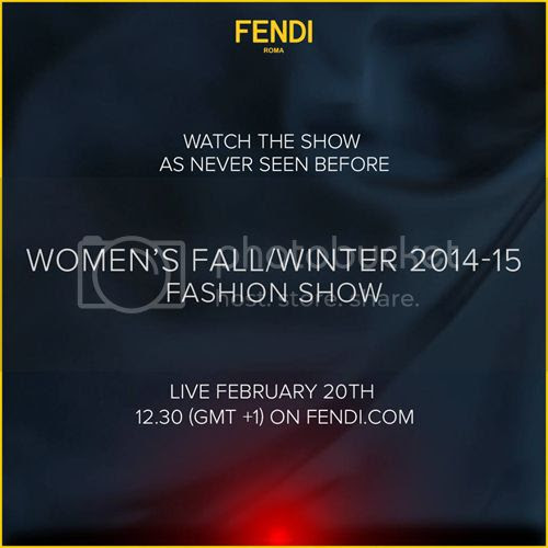 Fendi fall winter 2014/15 show livestream