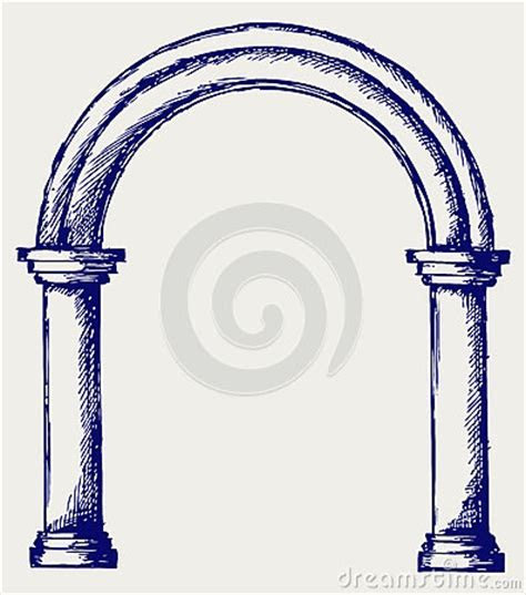 Arch Sketch Stock Photography   Image: 26975252