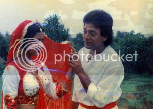 Still from Sakala Tirtha To Charane featuring Rachana & Uttam Mohanty