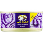 Wellness Cat Food, Turkey and Salmon - Single can, 5.5 oz.