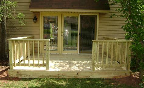 simple deck railing designs simple traditional deck