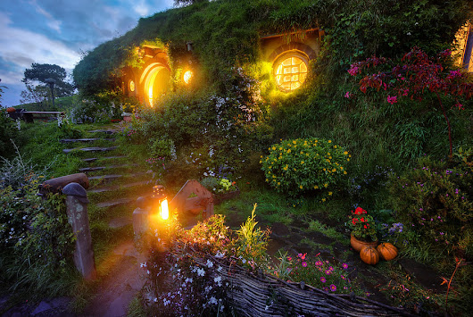 Bilbo's Hobbit Hole at Bag End