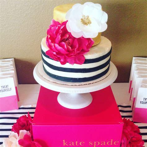 Kate Spade baby shower cake   Baby Shower   Pinterest