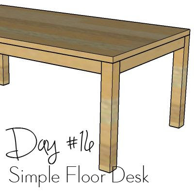 http://www.morelikehome.net/2017/10/diy-desk-series-16-simple-floor-desk.html