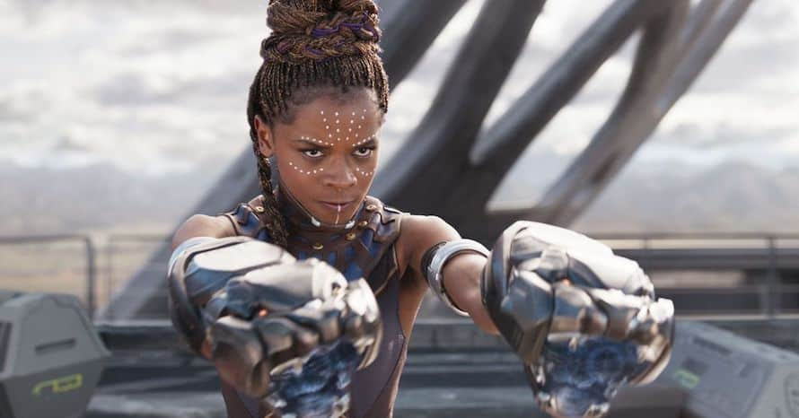 Letitia Wright Black Panther Avengers Tenoch Huerta