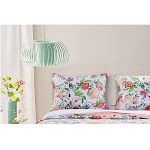 Barefoot Bungalow Blossom Reversible Bed Pillow Sham - Multicolor - King Multi