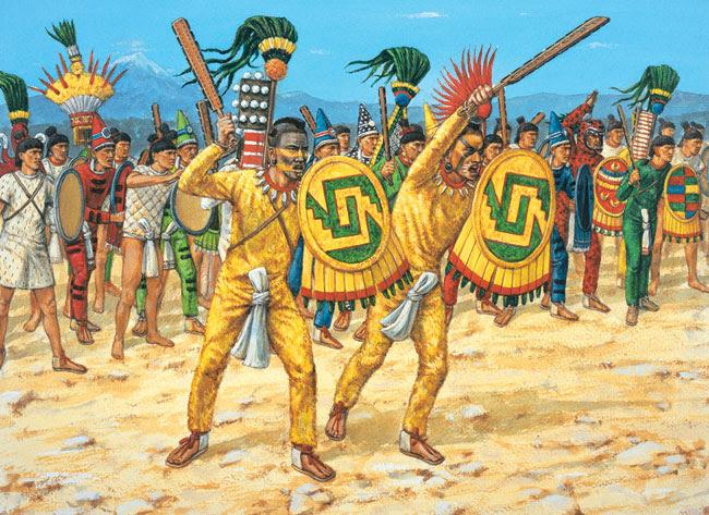 Los Guerreros Aztecas Los Aztecas