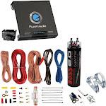 Planet Audio AC15001M 1500W MONO Car Amplifier+ 2.0 Farad Capacitor + Amp Kit