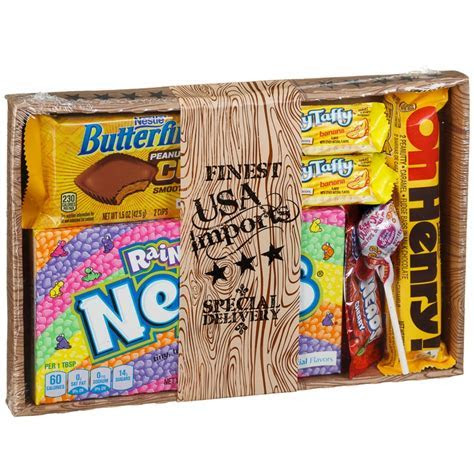 Authentic American Candy Hamper   Christmas Hampers   B&M