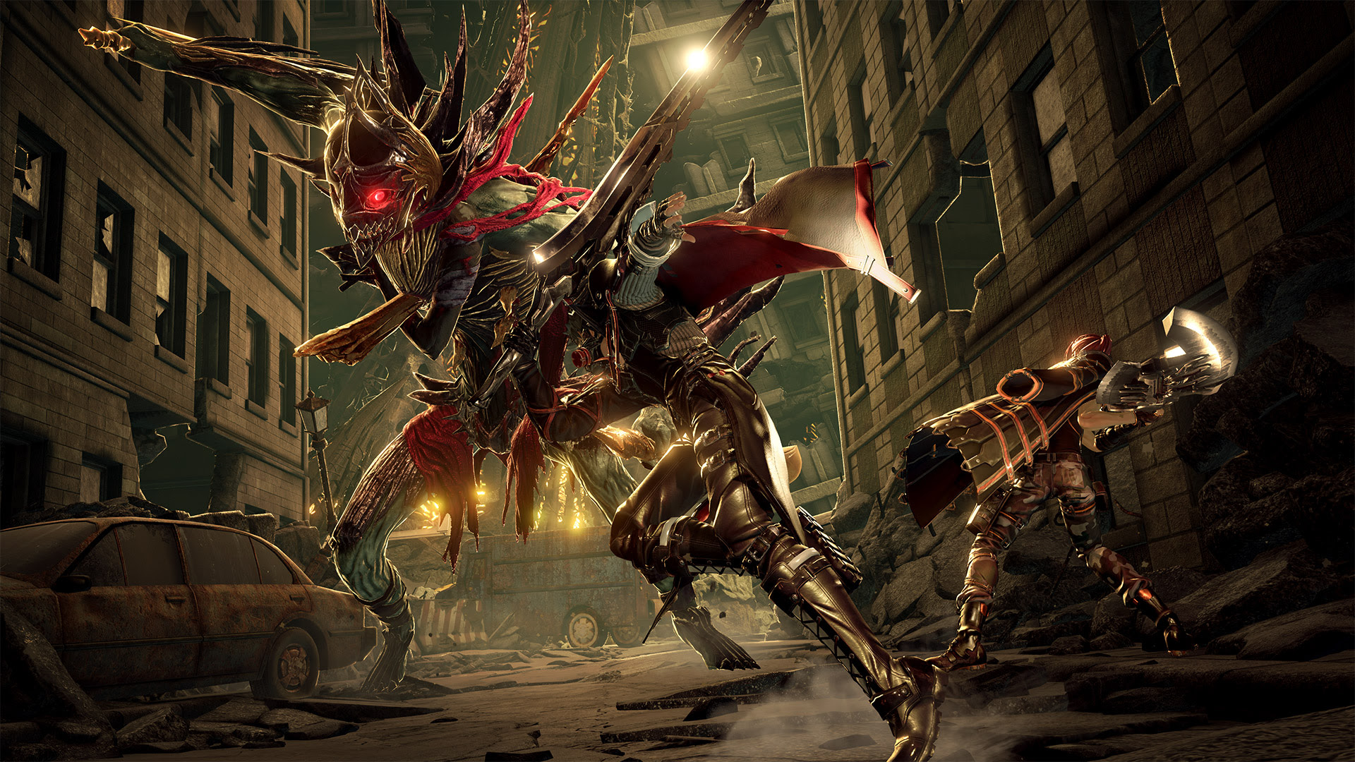 Code Vein, Bandai Namco's vampire Souls looking joint, is still rad screenshot