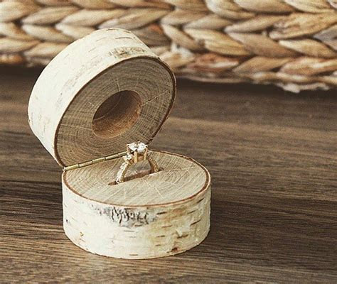 Make sure she wood say yes with this custom engagement