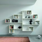 white modular wall shelving with contemporary style.png 150x150 25 модерни лавици