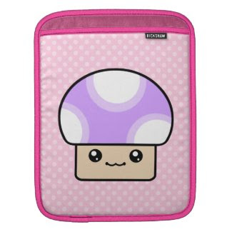 Cute Kawaii Mushy Puffs Mushroom Rickshaw iPad Sle rickshawsleeve