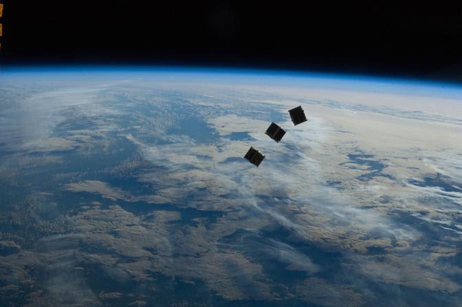 Il satellite a codice Morse