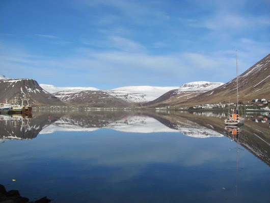 Take the Hrifandi Road through the Westfjords in Iceland