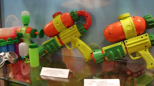 Real life Splatoon guns exist, and they shoot ink