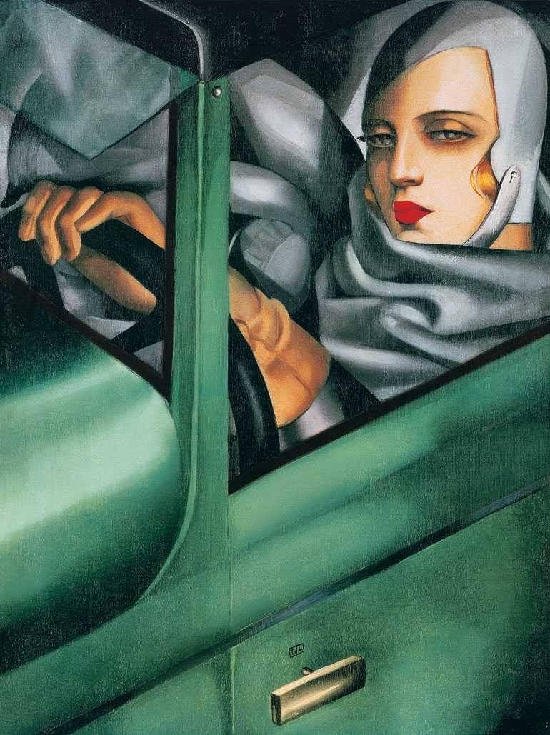 Resultado de imagen para arte mujer vestido verde