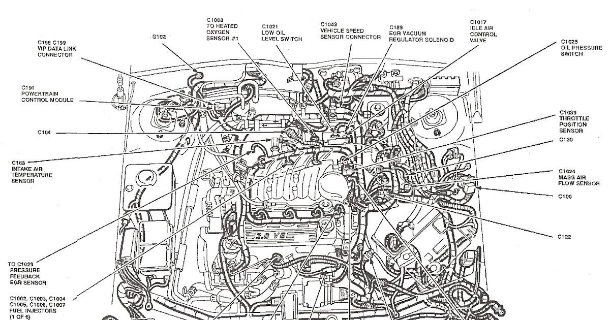 1994 Ford Explorer Engine Diagram