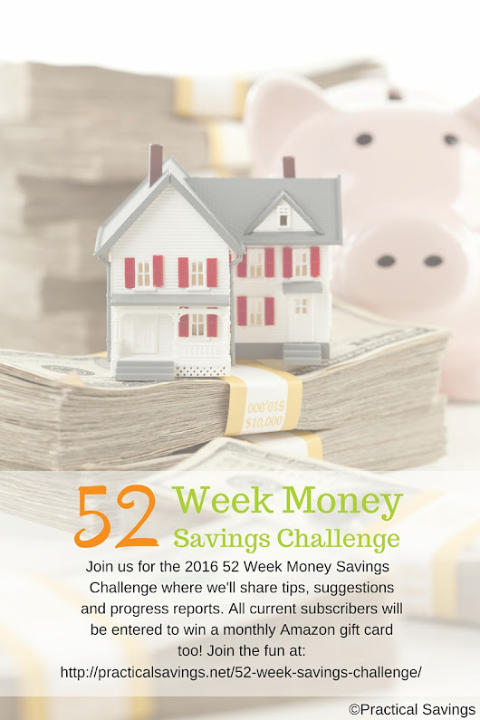 Keep The Change - The Money Savings Challenge - Week 10 - Practical Savings