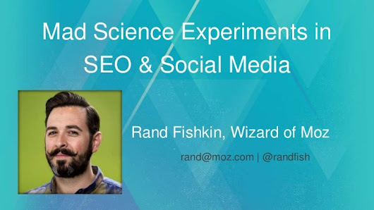 Mad Science Experiments in SEO & Social Media