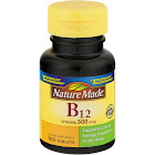 Nature Made Vitamin B-12, 500 mcg, Tablets - 100 count