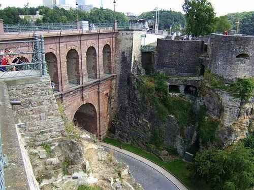 Bock Promontory, Luxembourg[1]