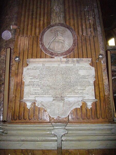 File:Trevi - ss Apostoli - tomba Bessarione 1120723.JPG