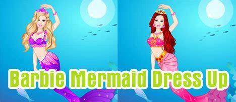 Barbie Mermaid Dress Up   Game Vui