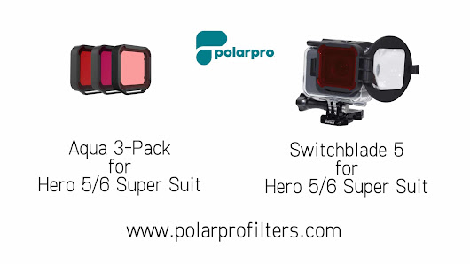 Equipment Review: PolarPro filters for GoPro HERO5 and HERO6 (Watch Video)