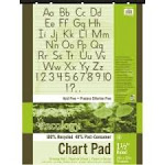 Pacon Ecololgy Unruled Recycled Chart Pads