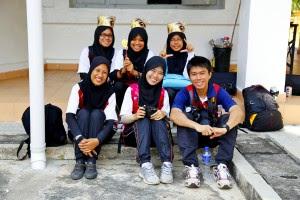 Pre-U students of SMK Munshi Abdullah, Malacca