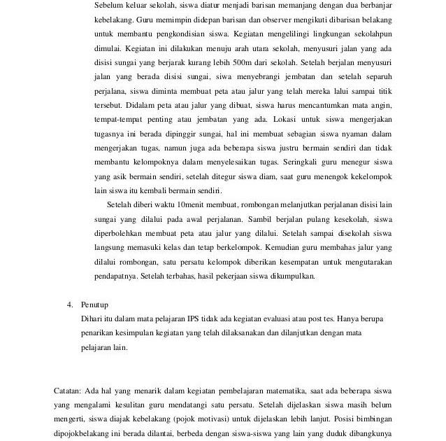Contoh Teks Laporan Hasil Observasi Tentang Lingkungan Sekolah Bahasa Jawa Kumpulan Contoh Laporan