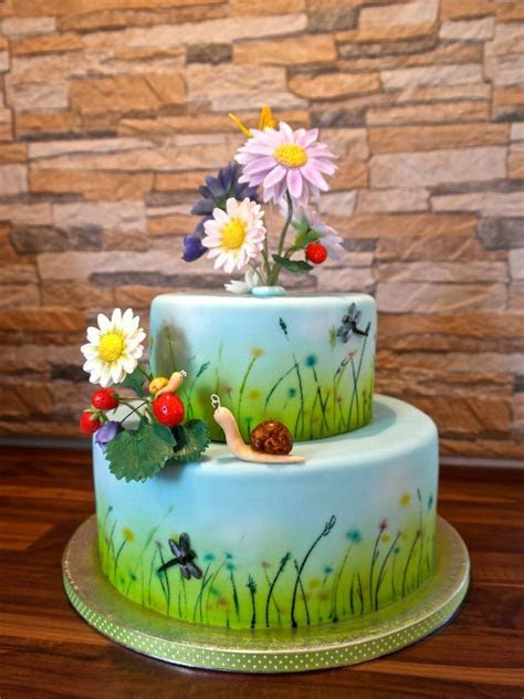 24 best images about Meadow cake on Pinterest   Pink baby