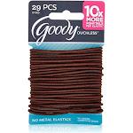 Goody Ouchless Elastics, Brown 29 ea by Pharmapacks