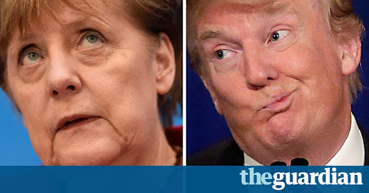 'Europe's fate is in our hands': Angela Merkel's defiant reply to Trump | US news | The Guardian