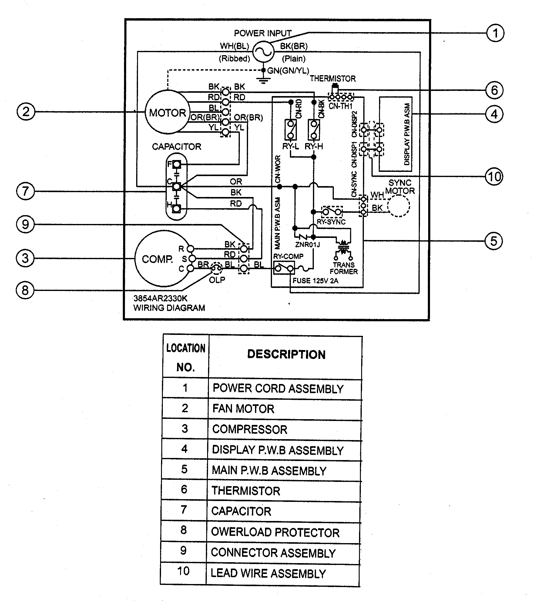 47 St Wiring Diagram Scully