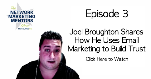 Email Network Marketing with Joel Broughton