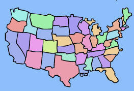 us map interactive game Us Map Location Games