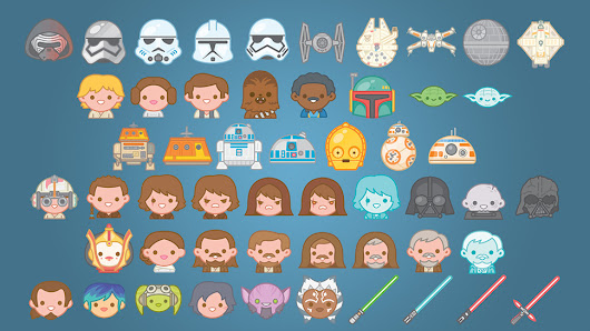Express Your Feelings with New STAR WARS Emojis | Nerdist