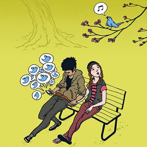 AD-Satirical-Illustrations-Show-Our-Addiction-To-Technology-15