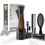 Wahl Professional Beret Cord/Cordless Trimmer with Pro Pop Fold Detangling Brush BWP824-GREY