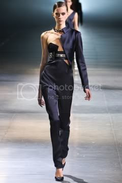 Anthony Vaccarello Fall 2012 Show